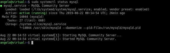查看MySQL的运行状态