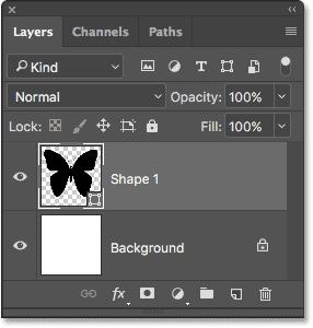 如何在 Photoshop 中用照片填充形状