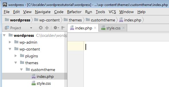 indexphp 和 stylecss 文件